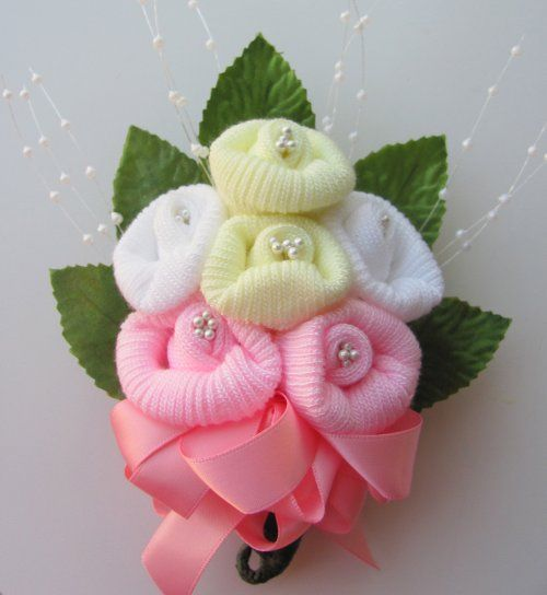 baby shower ideas for corsages - Google Search