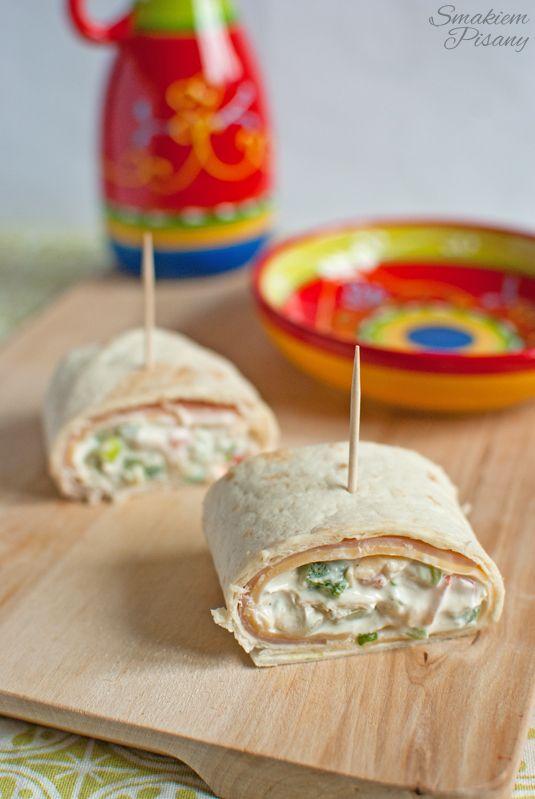 Smakiem Pisany: apetyczny, aromatyczny, kulinarny BLOG!: Roladki z tortilli