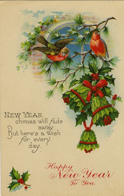 New Year Chimes by The Texas Collection, Baylor University, via Flickr