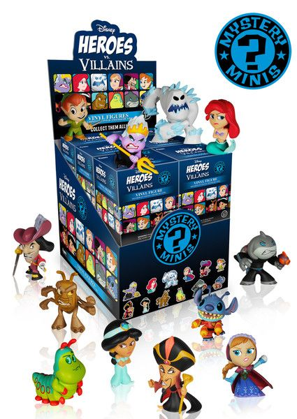 Funko Disney Hereos v Villains Mystery Mini Figure