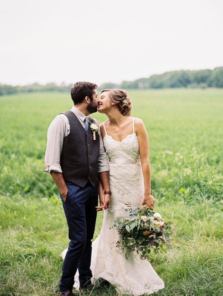 Rustic + Romantic Wisconsin Barn Wedding