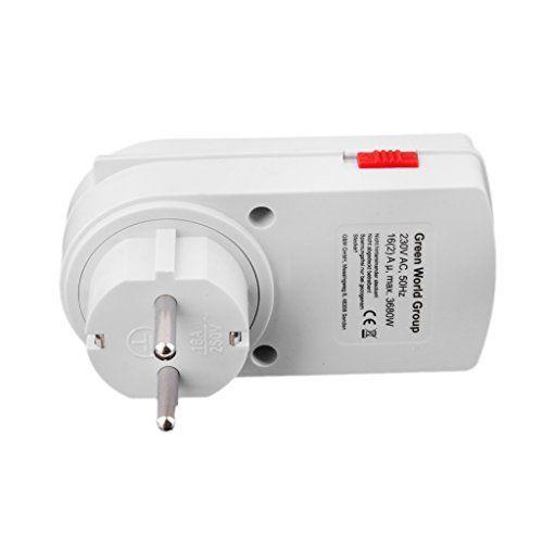 Generic 24-Heures Economiseur D'énergie Commutateur de Puissance Programme Minuterie de Prise Electrique Mural: Utilisé pour contrôler le…
