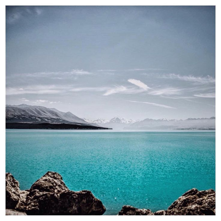 https://instagram.com/p/BC4MoP2p3gZ/  Beautiful blue glacier water. Last view of Mount Cook before heading up north. New Zealand.