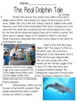 In this file, you get an original informational article for 3rd-5th grade (I will be using it with my students in 3rd); 8 questions formed using FSA testing stems and 1 written performance tasks. Students will read the one (double-sided) Dolphin Tale themed informational text article with 8 questions written in FSA-style such as HOT TEXT, Multiple Choice, Multiple Answer, 2 Part Questions, and Open Response.