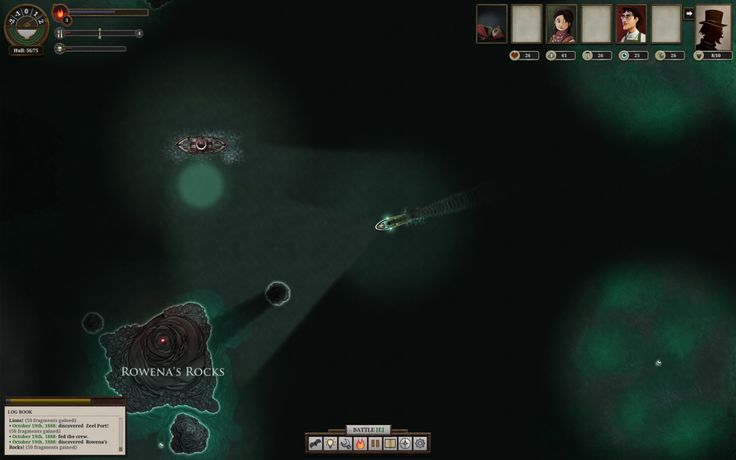 Procedural Generation — Sunless Sea (2015) Sail the dark apocyanic waves...