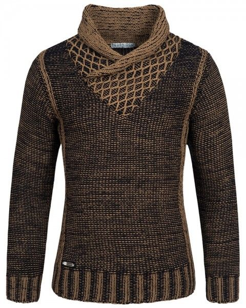 Redbridge Knit Shawl Collar Sweater