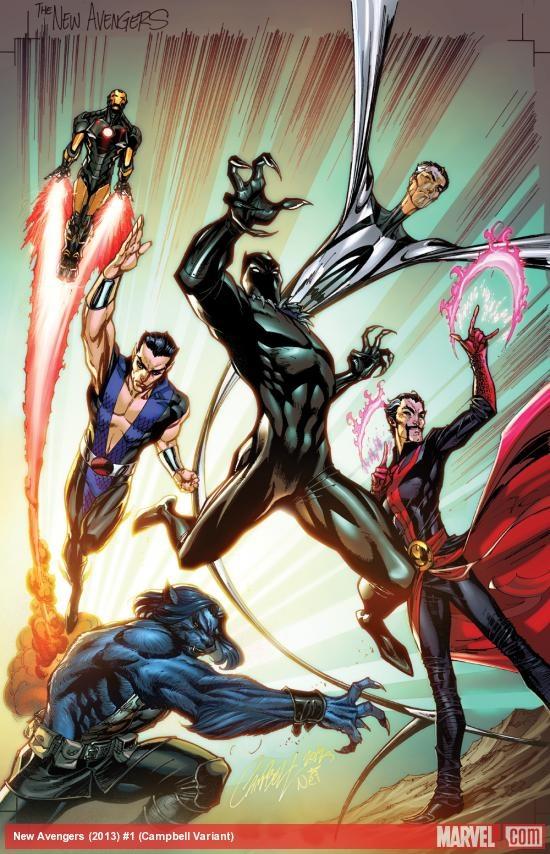 New Avengers, J. Scott Campbell