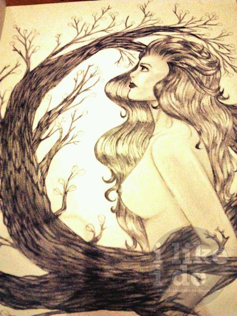 The Godess of Earth #sketch
