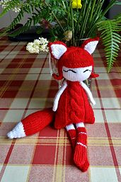 Ravelry: hrivelote's Foxy Naptime Doll