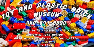 """Unofficial LEGO(r) Museum of Bellaire, Ohio I need to take Mikey here!"