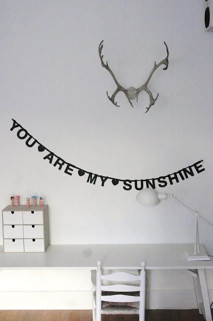 my only sunshine...you make me happy...