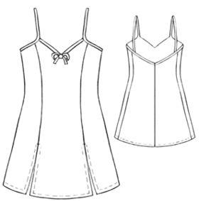 Slip or nightie pattern