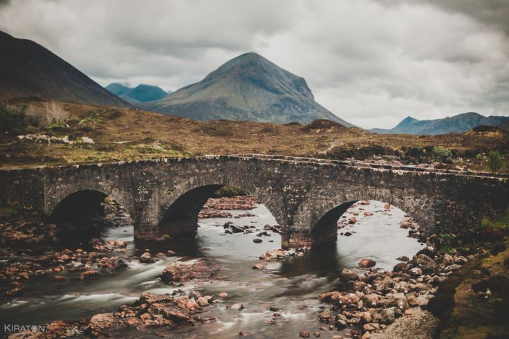 Sligachan Old Bridge, Cuillin Hills