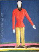 Peasant  by Kazimir Severinovich Malevich