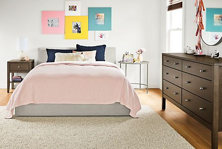 Wyatt Upholstered Kids' Bed - Modern Beds - Modern Kids Furniture - Room & Board