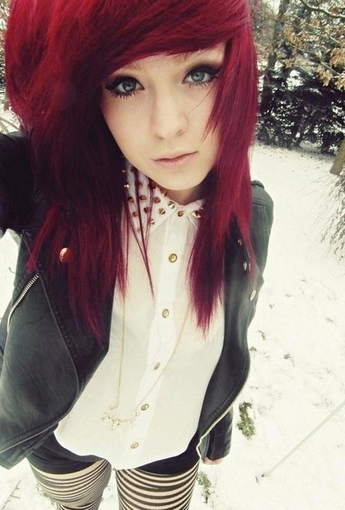 I have a feeling that I need red hair to even look somewhat cute.