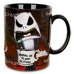 Jack, if you are on my mug, morning is not my nightmare, but happiness:-)