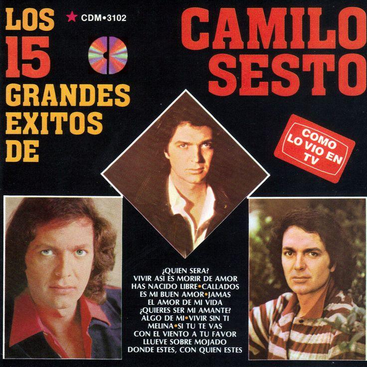Caratula Frontal de Camilo Sesto - Los 15 Grandes Exitos De Camilo Sesto