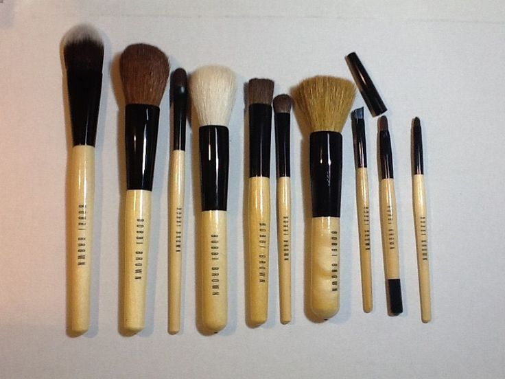 Bobbi Brown 10 piece brush set #BobbiBrown
