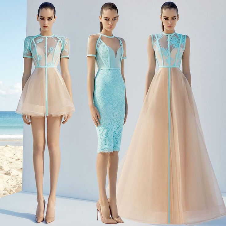 The dress in the middle