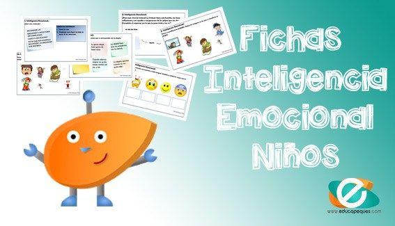 Desarrollo emocional del niño. Fichas Inteligencia emocional para niños
