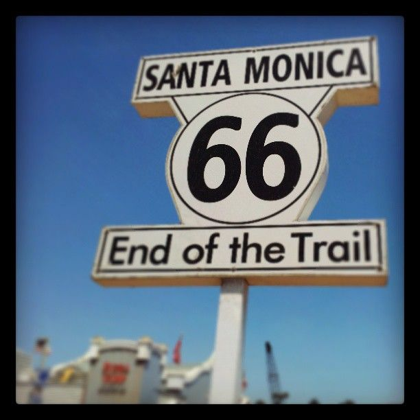 End of Route 66!