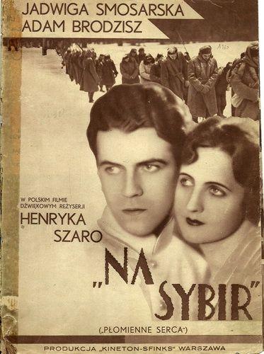 Jadwiga Smosarska i Adam Brodzisz / polski melodramat / 1930 film niemy / 1937 film udźwiękowiony / reż. Henryk Szaro