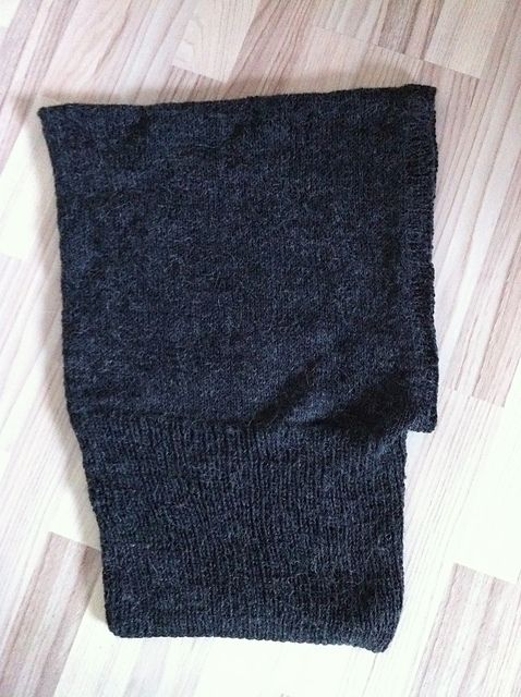 """Ravelry: Project Gallery for B """"HOODED NECK WARMER ..."""