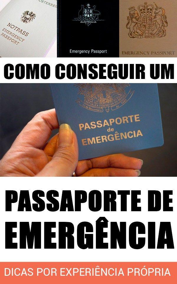 Como tirar um passaporte de emergência. Veja como e em quais casos você pode conseguir o passaporte de emergencia apesar da suspensão da emissão de passaportes pela Polícia Federal.