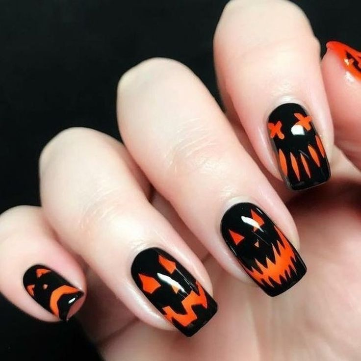 40 Spooky Halloween Nail Art Design Ideas Trending Right ...