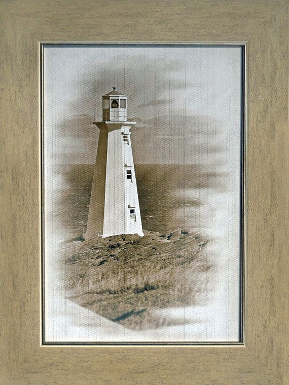 Lighthouse Beacon, Art Print on Canvas, Nautical Decor Design, Wall Art, Framed picture, Wood Frame, Sea life, Art photography by knittedsea. Explore more products on http://knittedsea.etsy.com
