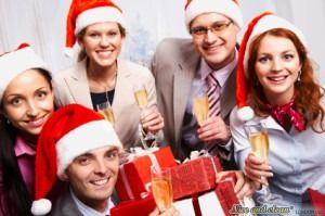 How to behave at the Christmas Party in the office - valuable hacks