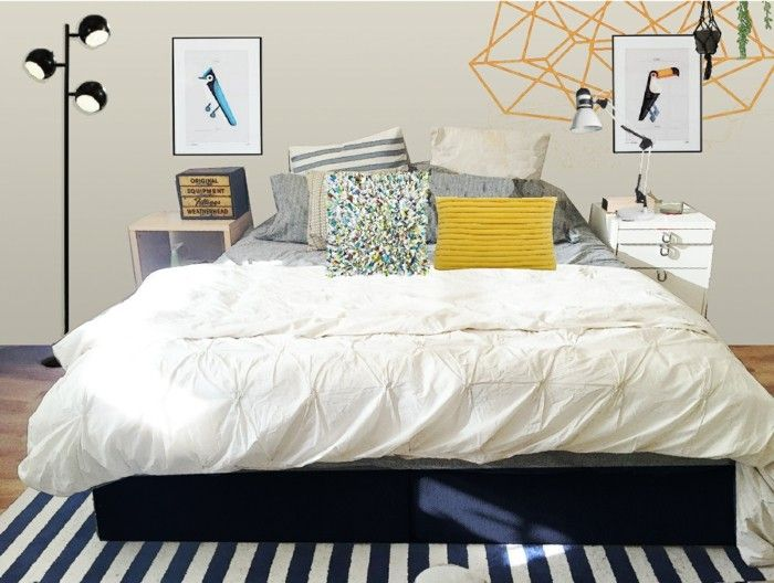 bett ohne kopfteil 33 beweise dass bettkopfteile nicht obligatorisch sind schlafzimmer. Black Bedroom Furniture Sets. Home Design Ideas