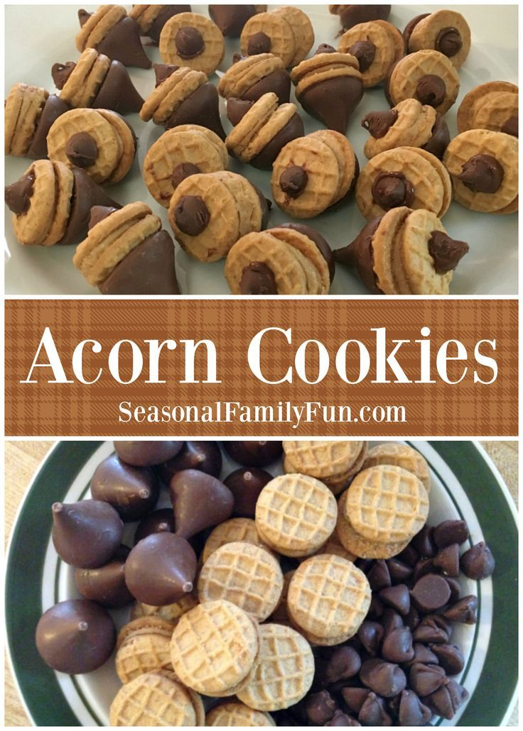 Your Family Will Love These Cute Acorn Cookies