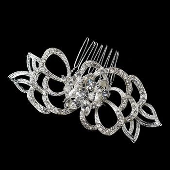 Silver Petal Hair Comb. Take it home at: http://styleyourday.com.au/products/Silver_Petal_Hair_Comb-452-111.html