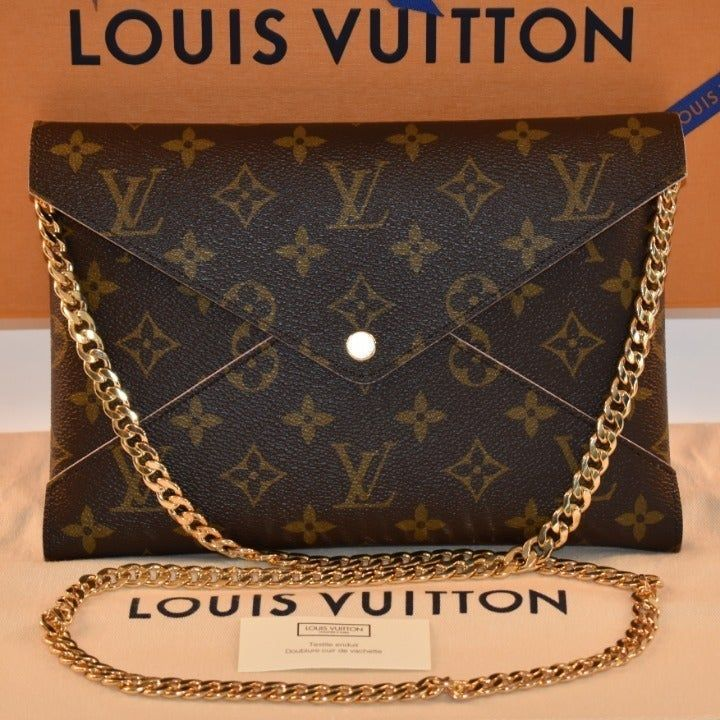 Authentic 2019 Louis Vuitton Large Kirigami Brand New With Tags Lv Dustbag Lv Box And A Copy Of The Purchase Receipt Louis Vuitton Louis Vuitton Clutch Louis