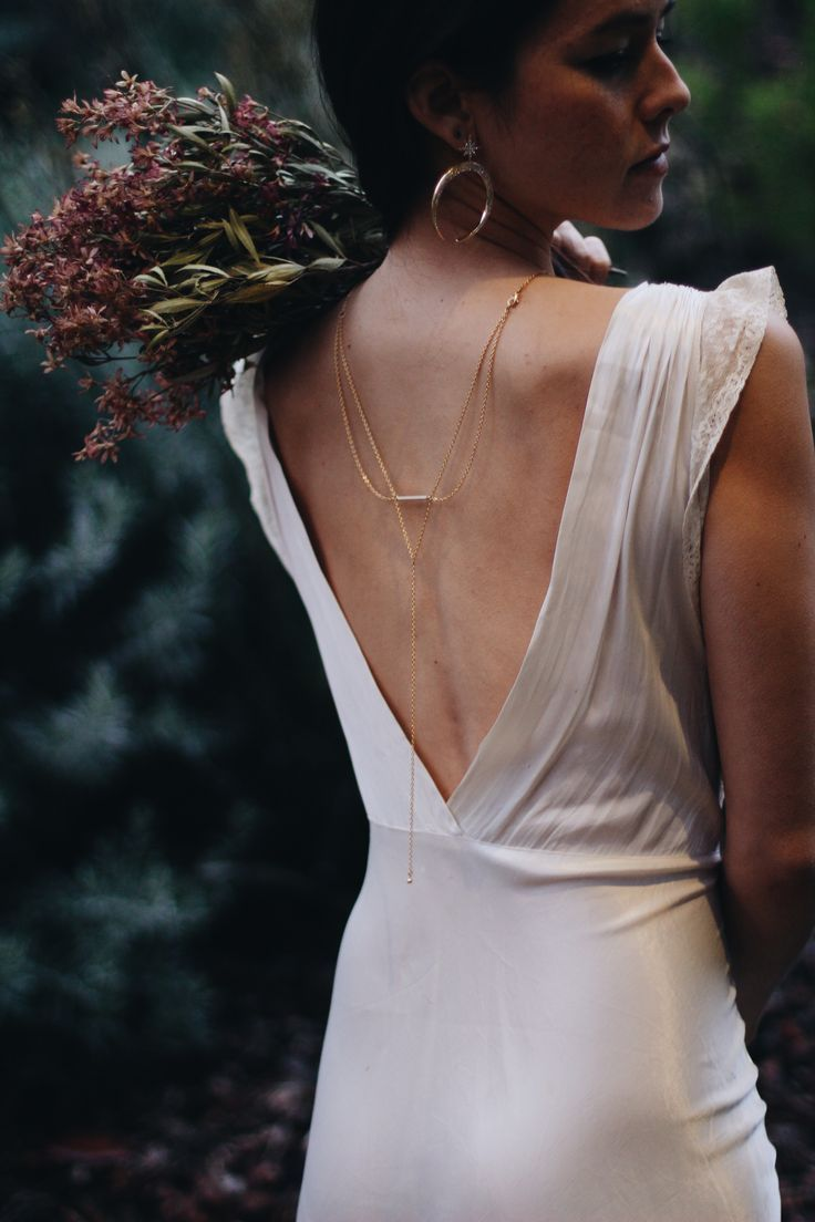 Back Necklace De La Luna My Style Pinterest Dress