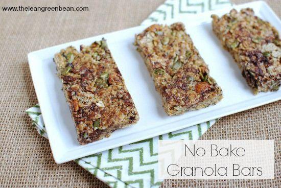 15 Clean-Eating No-Bake Snacks