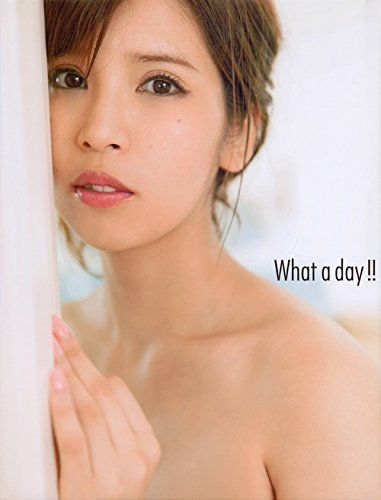"(N) Anri Sakaguchi 坂口杏里 Photo Collection Book "" What a day "" Japanese Sexy Model"