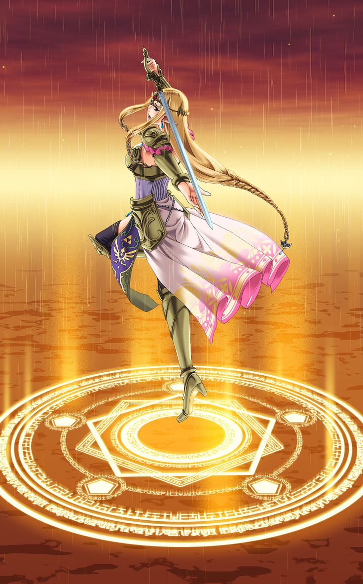 Queen Zelda Musou -- The Fairy's Royal Blessing by 魔法陣と無双姫のスカ