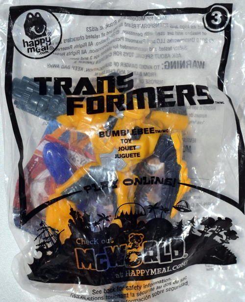 McDonald's 2010 Transformers - Bumblebee Toy #3