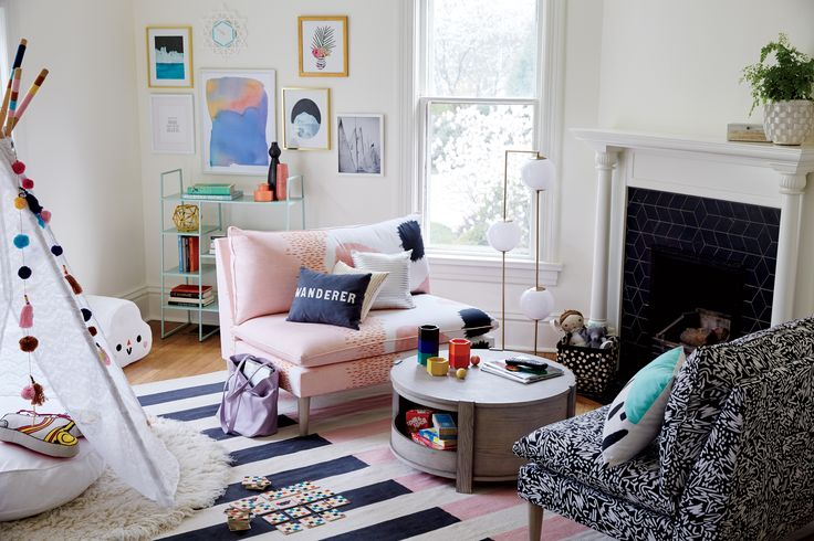 Best 25 small fireplace ideas on pinterest fireplace for Land of nod playroom ideas