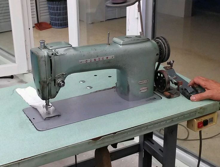 Consew Model 220 Industrial Sewing Machine Consew