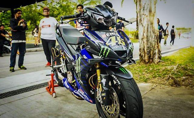 Sangar Modifikasi Yamaha Mx King Monster Energy Monster Energy