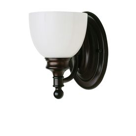 Wall Lamps Not Hardwired : Bel Air Lighting 6-in W 1-Light Oil Rubbed Bronze Arm Hardwired Wall Sconce light it up ...