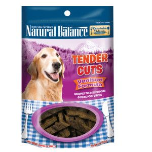 Natural Balance Delectable Delights Tender Cuts Venison Dog Treat | Chewy Treats | PetSmart