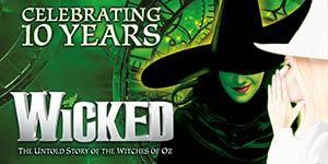 Wicked Tickets | Apollo Victoria Theatre London | Theatre Tickets Direct Mobile