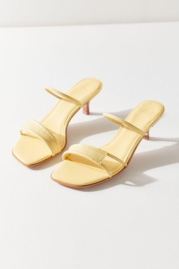 Uo Bella Strappy Kitten Heel Kitten Heels Chic Shoes Sandals Heels