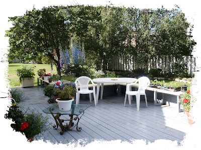 YARDEN COLLECTIONS: Summer deck living.