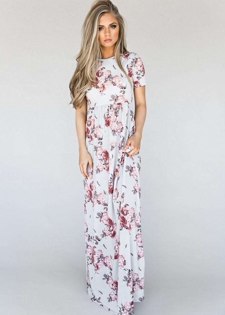 Sammy Floral Maxi Dress